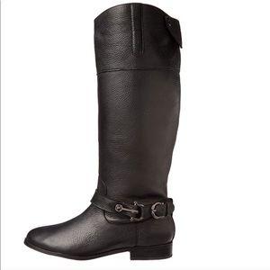 DOLCE VITA Channy Riding Moto Boot - Black 6.5